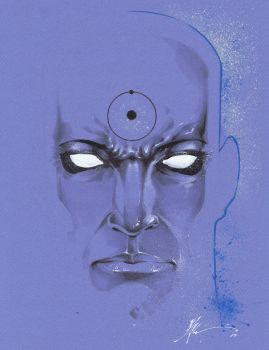 Dr Manhattan by JonathanGlapion