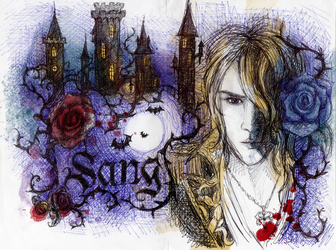 Kamijo Sang with photoshop colors add by Elbereth-de-Lioncour