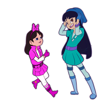 Pilot Isabella And Pilot Stacy2 by FennecFe