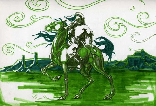 In a Green Wind by Cypher-Calliste