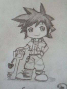 Kingdom Hearts Sora by The-Misfit-ers