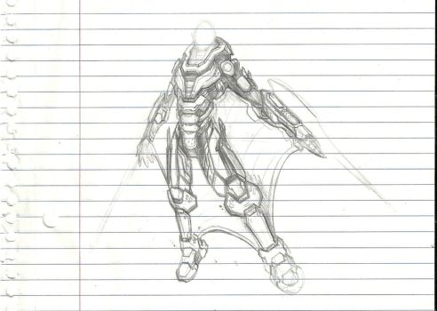 Halo Art-Coalition of the Forgotten Armor Concept by Partin-Arts