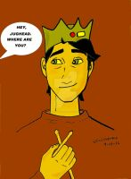 Hey Jughead Where Are You  sepia by gARY519mOORE