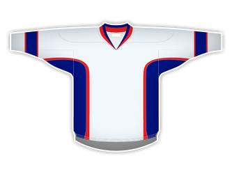 Blank Hockey Jersey 1 by garald4