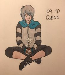 quinn (OC-tober day 9) by DawnRedd