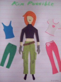 paper-kim Possible by autumnrose83