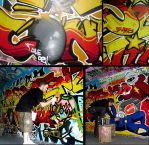 ULE02 Graffiti IX by FAK-HER-1993