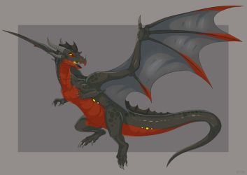 Dragon by etrii