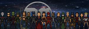 DC Cinematic Universe Timeline by LoganWaynee