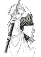 Hitsugaya by carvalhooak