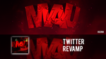 Twitter revamp for MauTYT by xSergi
