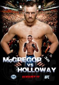 McGregor vs Holloway by Oj4breakfast
