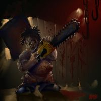 SPEED PAINT 'LIL' LEATHERFACE' by Grimbro