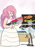 Rose and Rick: Arms Sale COLORED by Maxis-Geryon