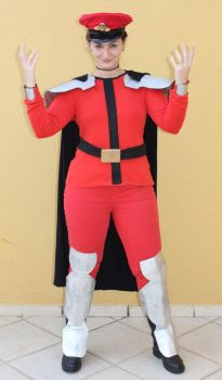 M. Bison Cosplay by pamtamarindo
