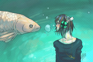 Hello, Mr. Fish. by e4rlyfrost
