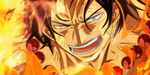 One Piece Portgas D Ace Gold Anime Gif by Amanomoon
