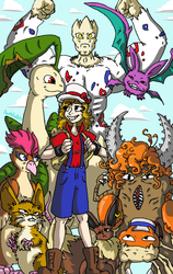 Nuzlocke But Drawn Seriosuly by SaintsSister47