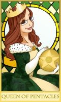 Holly Christine - Queen of Pentacles by Jellyfish-Station