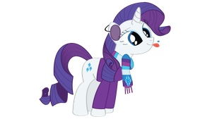 Rarity - First Snow Of The Season v2 by snajperpl