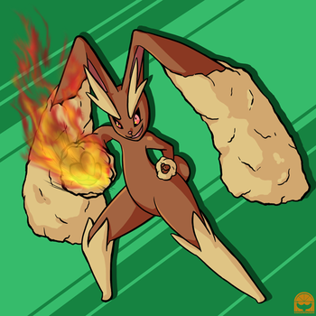 Commission: Lopunny by cocowoushi