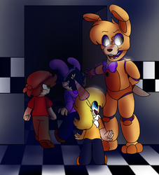 A Little surprise for you ~ ( FNAF) by SpeedyCat1234