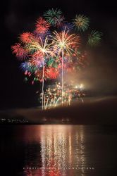 Raining Fireworks II by couleur