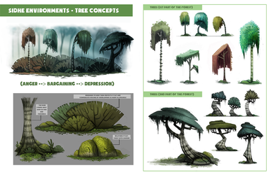 Day 698. Sidhe - Tree Concepts by Cryptid-Creations