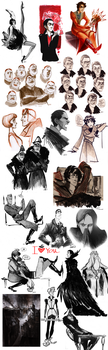 that's a sketchdump I by Phobs0