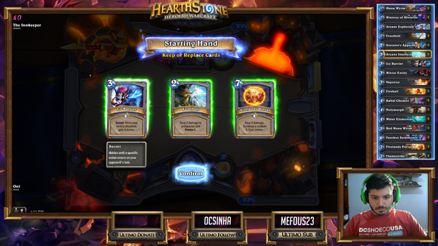 My Hearthstone Stream Overlay by lolmadz