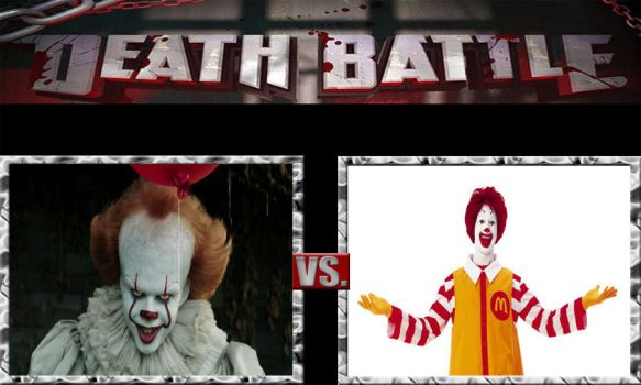 Death Battle Ideas 226 Pennywise Vs Ronald by kouliousis