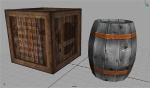 Barrel and Crate - Fall 2007 by ThankYouComeAgain