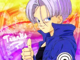 Mirai Trunks wallpaper by Mit by Mit-Hydeist