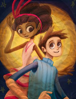 Brokenage Vella and Shay by jameson9101322