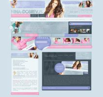 Nina Dobrev Poland by heart4design