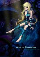 Alice in Wonderland by JinkiMania