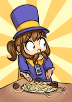 Somebody Touched her Spaghet by Mickeymonster