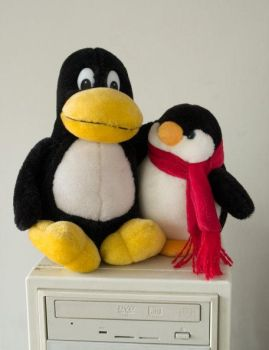 Linux is friendly by Nidhogg