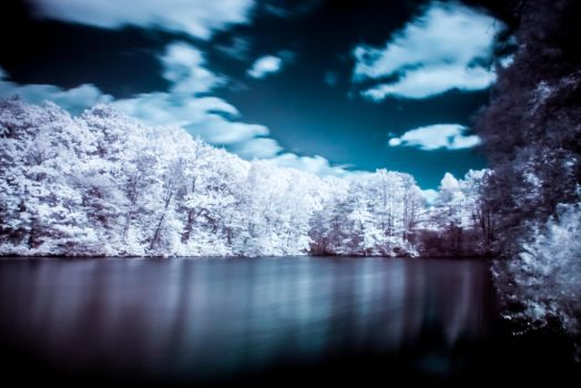 IR - Neigborhood Lake by DanielGliese