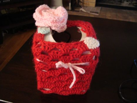 My Valentine Box by laurencrochets