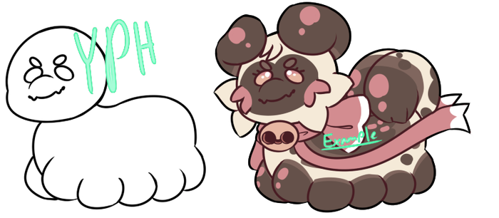 [OPEN] Lil' Paca Cheeb YCH by royalraptors