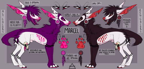 Marcel Reference 2017 by NVSTY