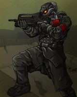 Helghast Soldier by AIBryce