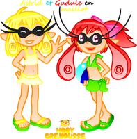 .:BRUSSELS INKLINGS IN SWIMSUITS:. by HOBYGRENOUSSE