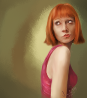 Pouter - Paint Sketch 2013-7-26 by iamniquey
