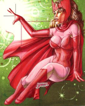 Scarlet Witch, Dangerous Diva by Dangerous-Beauty778
