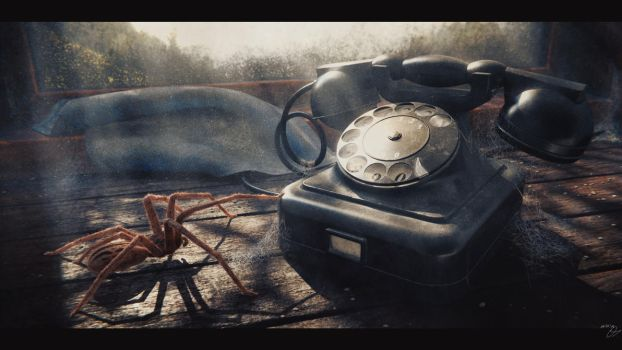 Old Phone by Council-Cryart