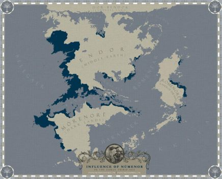 Influence of Numenor in the early Third Age by enanoakd