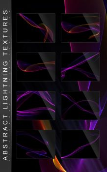 Abstract Lightning Textures by Atef-Emran