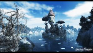 Icy Winter by biancomanto